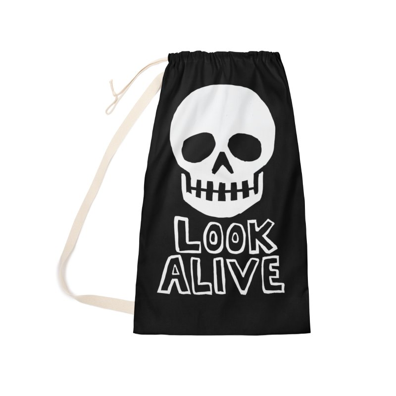 Look Alive Accessories Laundry Bag Bag by Renee Leigh Stephenson Artist Shop