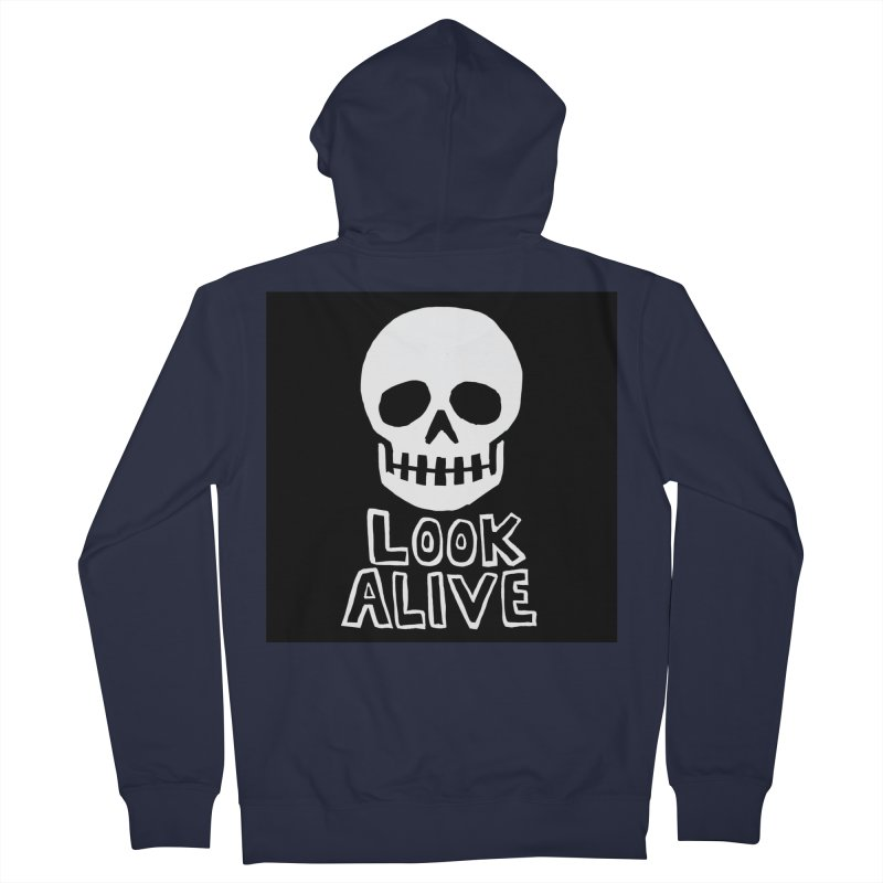 Look Alive Women's French Terry Zip-Up Hoody by Renee Leigh Stephenson Artist Shop
