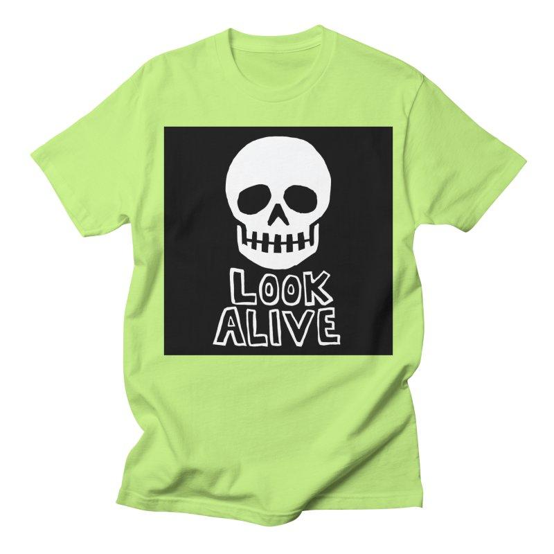Look Alive Men's Regular T-Shirt by Renee Leigh Stephenson Artist Shop