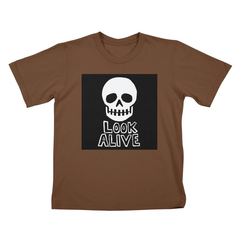 Look Alive Kids T-Shirt by Renee Leigh Stephenson Artist Shop