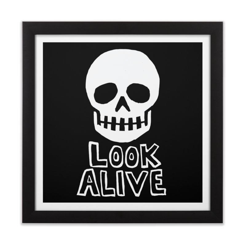 Look Alive Home Framed Fine Art Print by Renee Leigh Stephenson Artist Shop