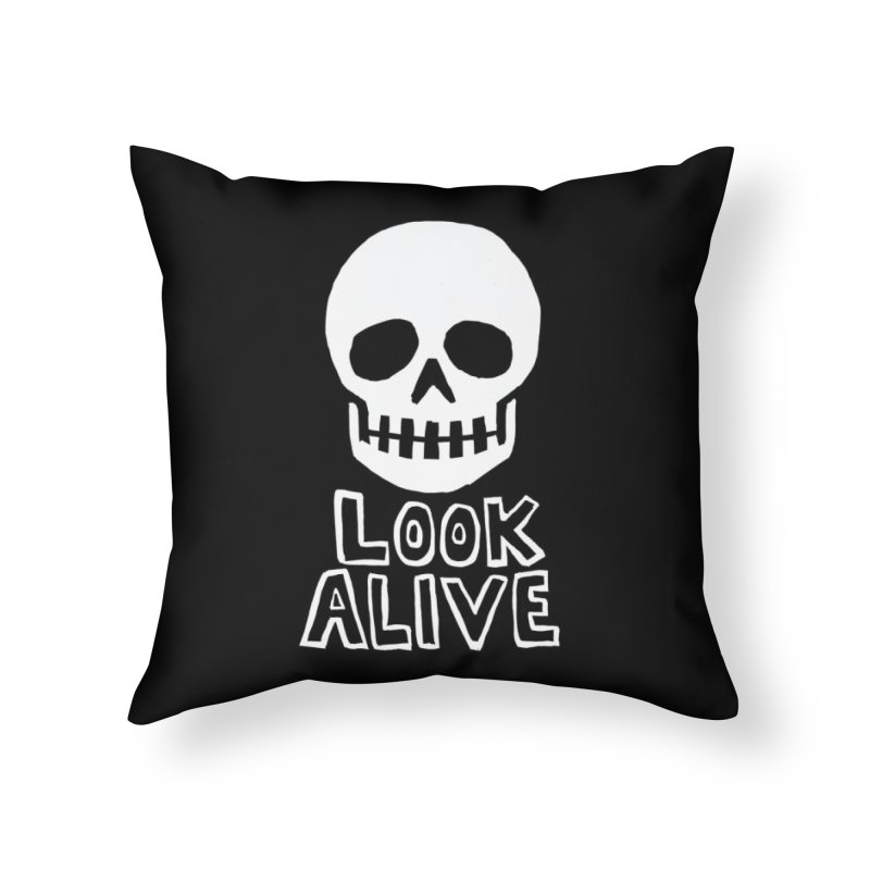 Look Alive Home Throw Pillow by Renee Leigh Stephenson Artist Shop