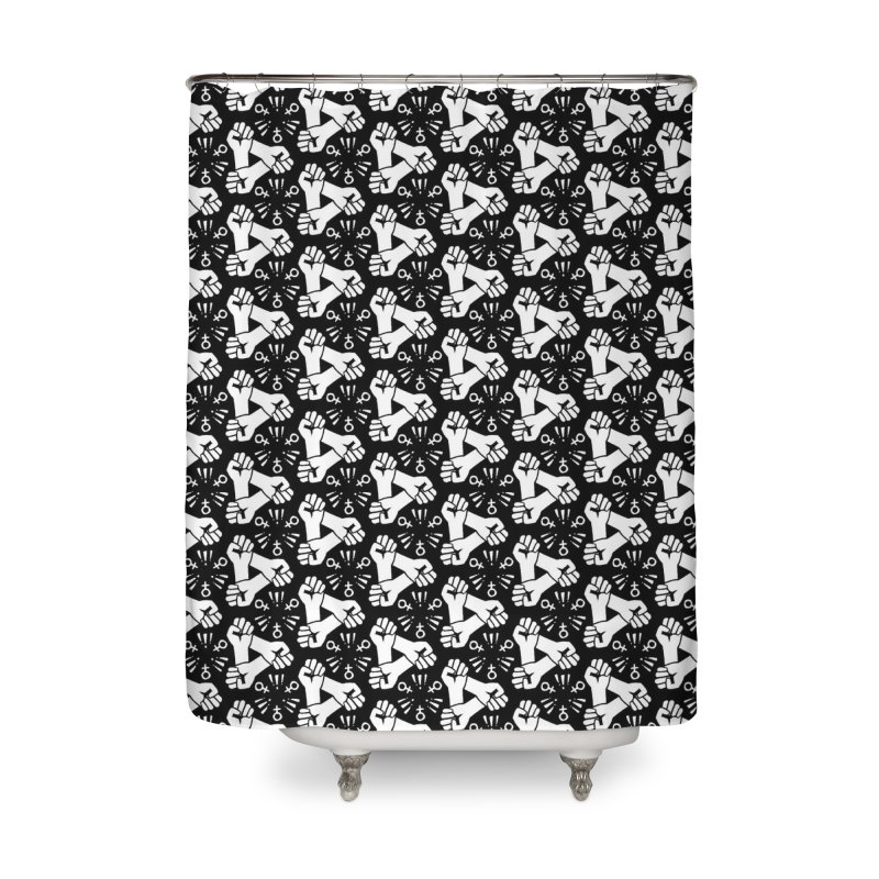 Feminist Resist Fists Home Shower Curtain by Renee Leigh Stephenson Artist Shop