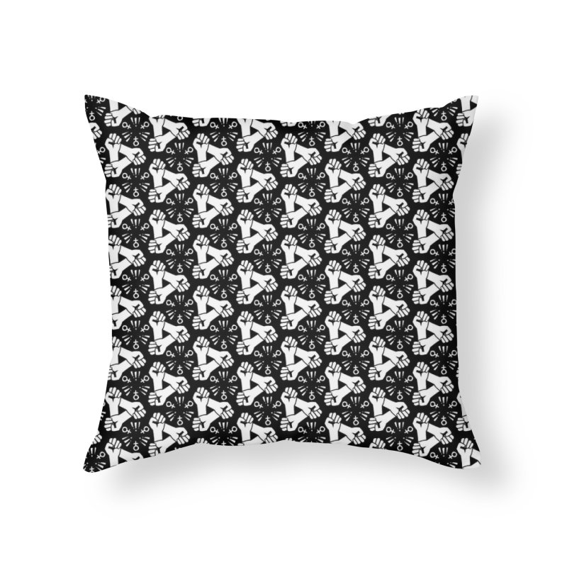 Feminist Resist Fists Home Throw Pillow by Renee Leigh Stephenson Artist Shop