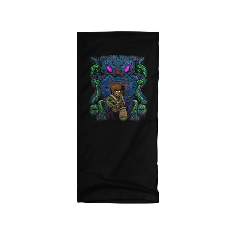 Escaping Cthulhu Accessories Neck Gaiter by Requiem's Thread Shop