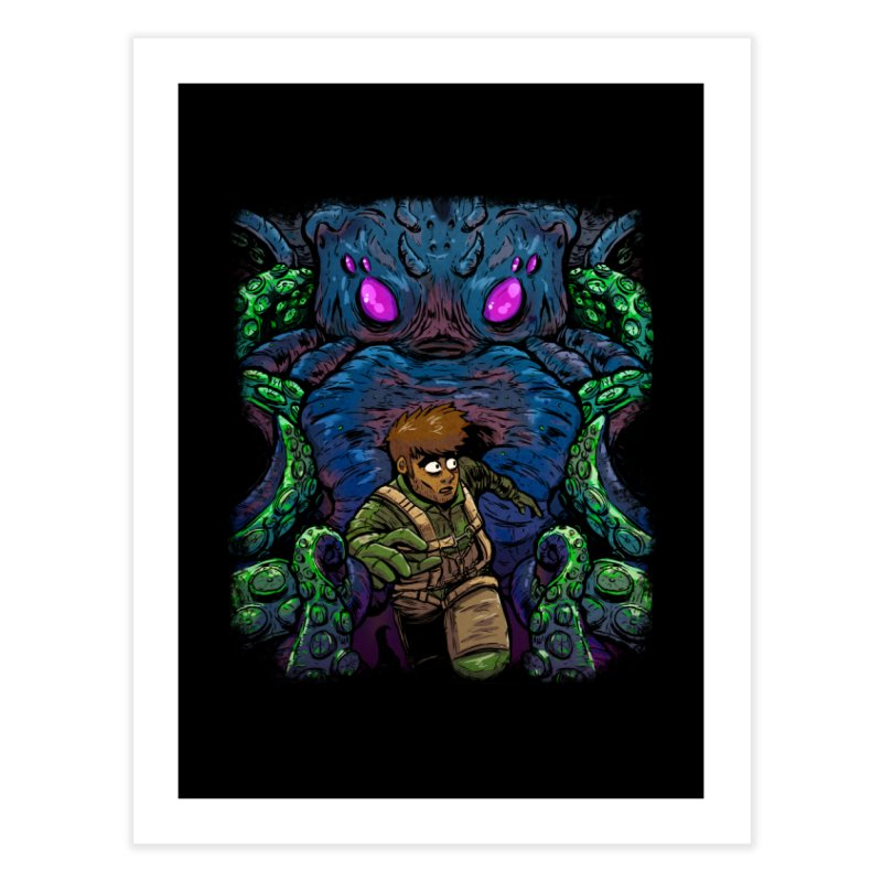 Escaping Cthulhu Home Fine Art Print by Requiem's Thread Shop