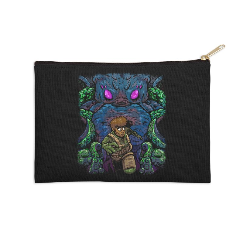 Escaping Cthulhu Accessories Zip Pouch by Requiem's Thread Shop
