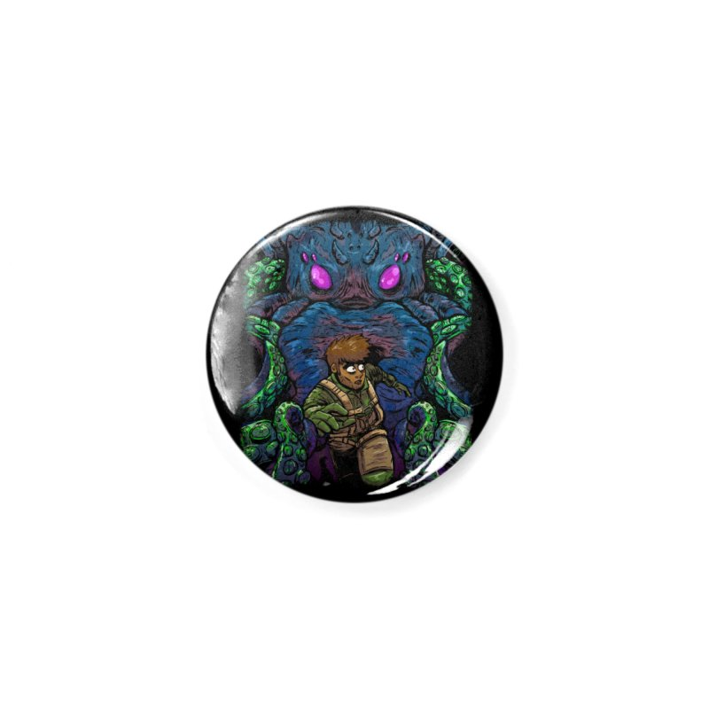 Escaping Cthulhu Accessories Button by Requiem's Thread Shop