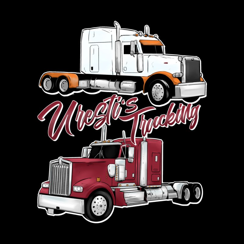 Uresti's Trucking Home Shower Curtain by Requiem's Thread Shop