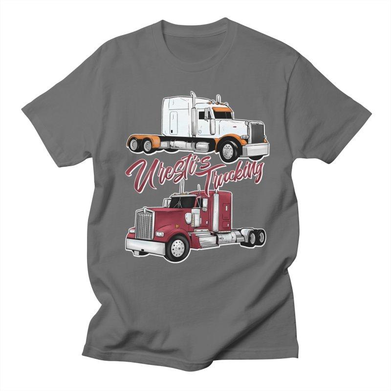 Uresti's Trucking Men's T-Shirt by Requiem's Thread Shop