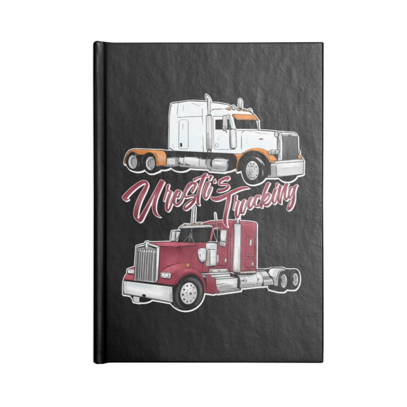 Uresti's Trucking Accessories Notebook by Requiem's Thread Shop