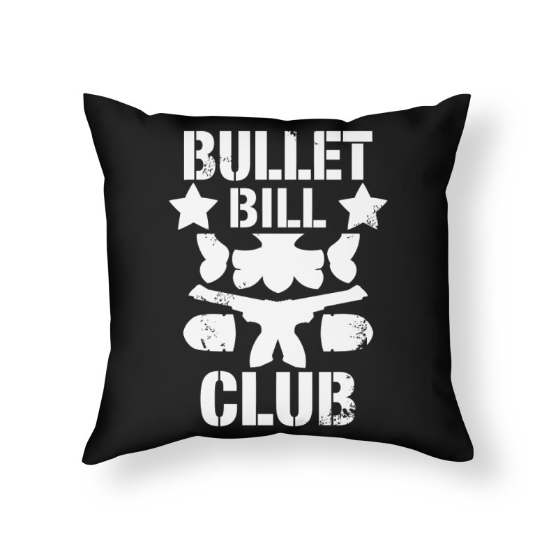 BBC  Home Throw Pillow by Requiem's Thread Shop