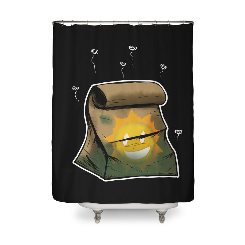 Sunshine In A Bag Home Shower Curtain by Requiem's Thread Shop