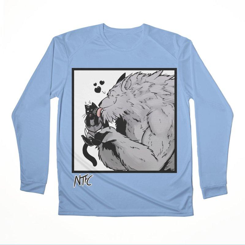 Cat Dad Women's Longsleeve T-Shirt by Requiem's Thread Shop