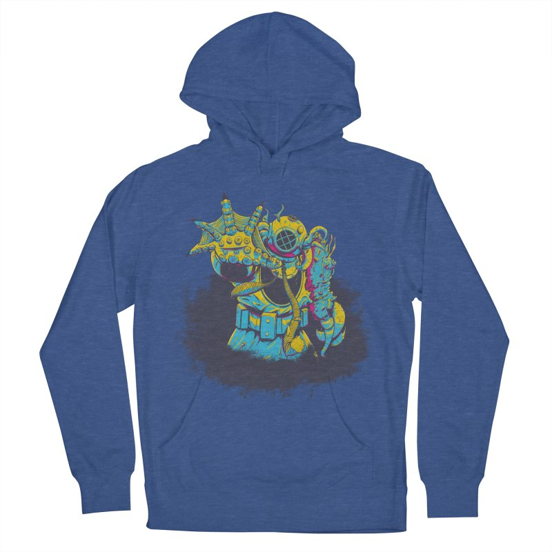 From The Deep Blue Women's Pullover Hoody by Requiem's Thread Shop
