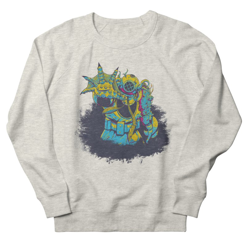 From The Deep Blue Men's Sweatshirt by Requiem's Thread Shop