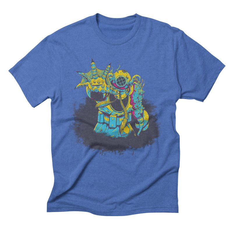 From The Deep Blue Men's Triblend T-Shirt by Requiem's Thread Shop