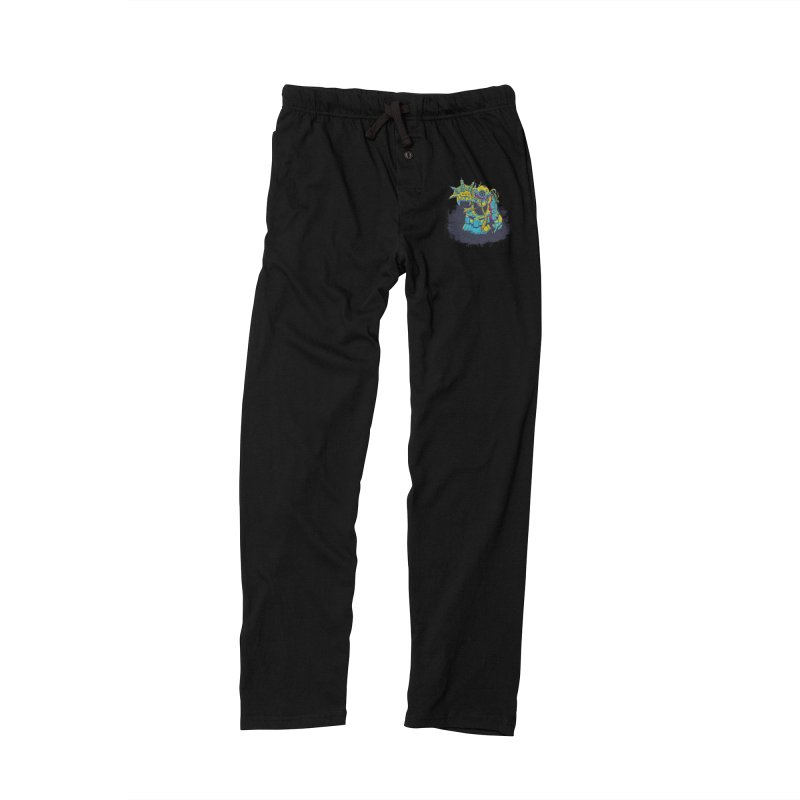 From The Deep Blue Men's Lounge Pants by Requiem's Thread Shop