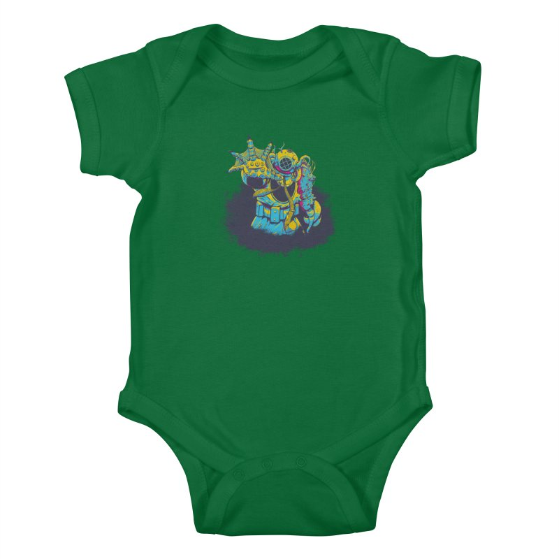 From The Deep Blue Kids Baby Bodysuit by Requiem's Thread Shop