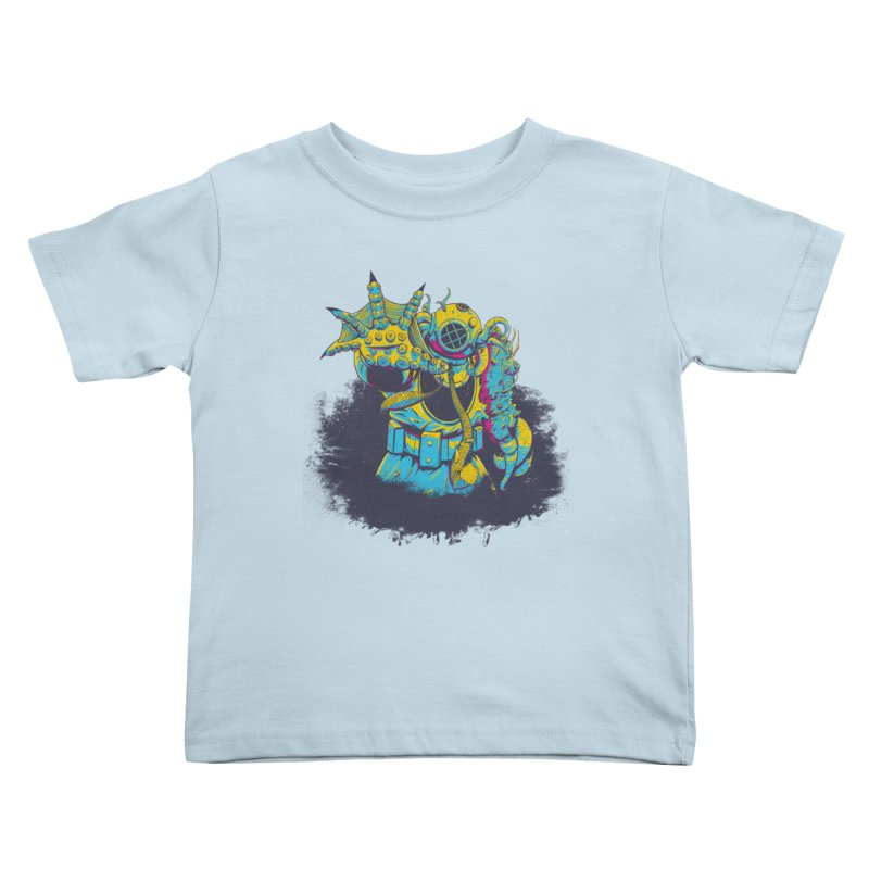 From The Deep Blue Kids Toddler T-Shirt by Requiem's Thread Shop
