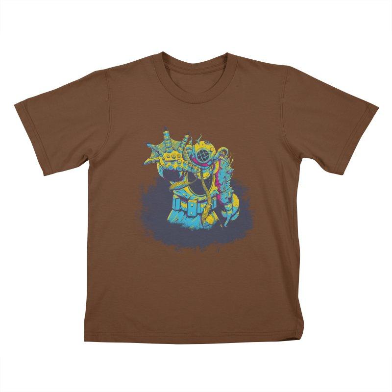 From The Deep Blue Kids T-Shirt by Requiem's Thread Shop