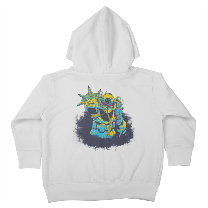 From The Deep Blue Kids Toddler Zip-Up Hoody by Requiem's Thread Shop