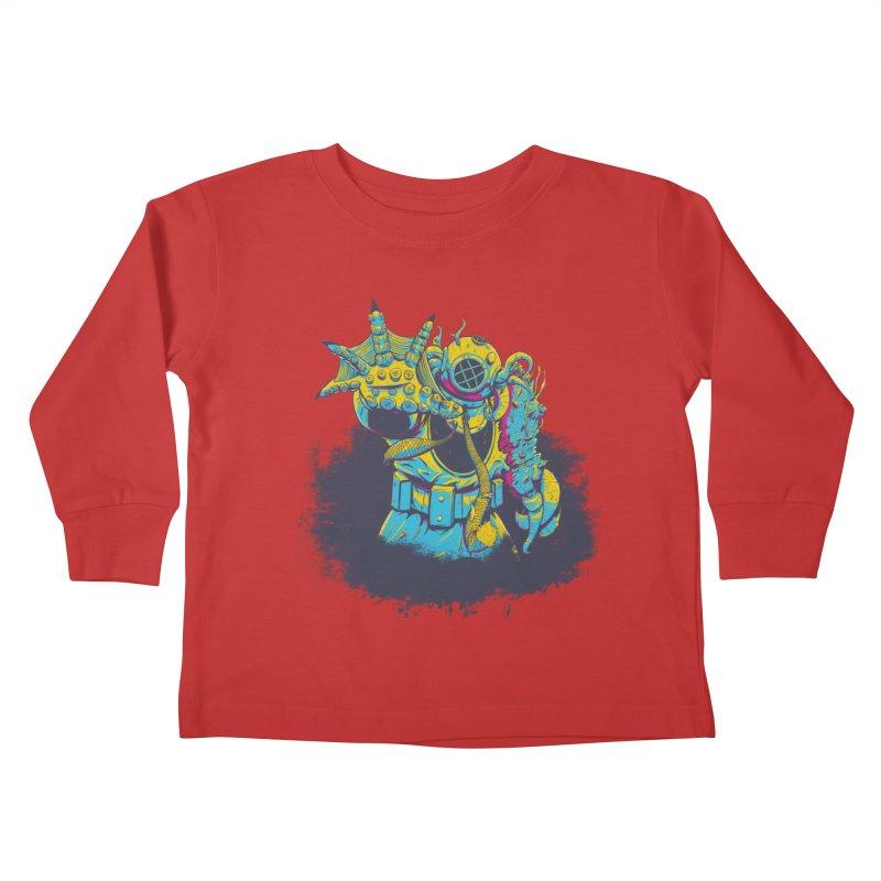 From The Deep Blue Kids Toddler Longsleeve T-Shirt by Requiem's Thread Shop