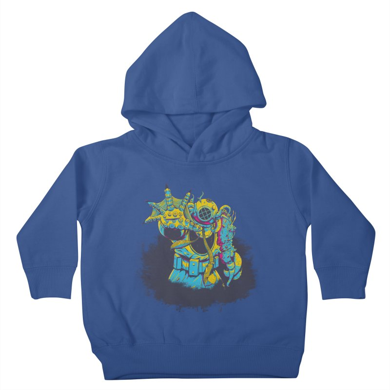 From The Deep Blue Kids Toddler Pullover Hoody by Requiem's Thread Shop