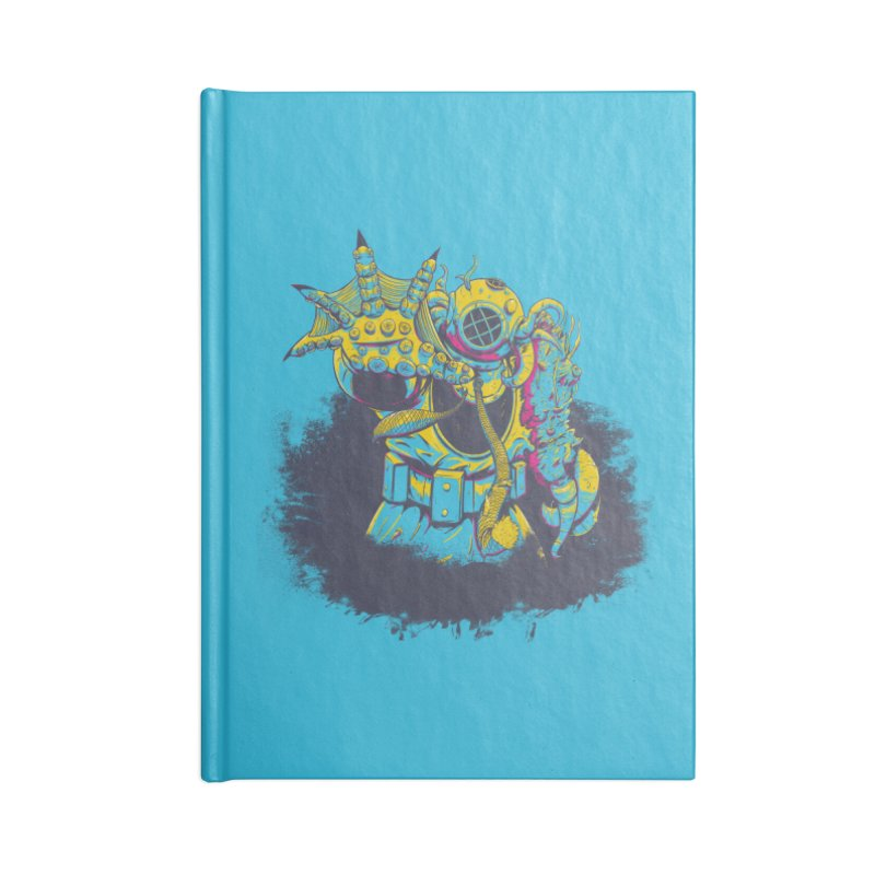 From The Deep Blue Accessories Lined Journal Notebook by Requiem's Thread Shop