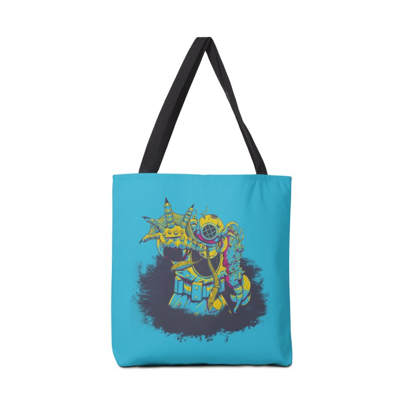 From The Deep Blue Accessories Tote Bag Bag by Requiem's Thread Shop