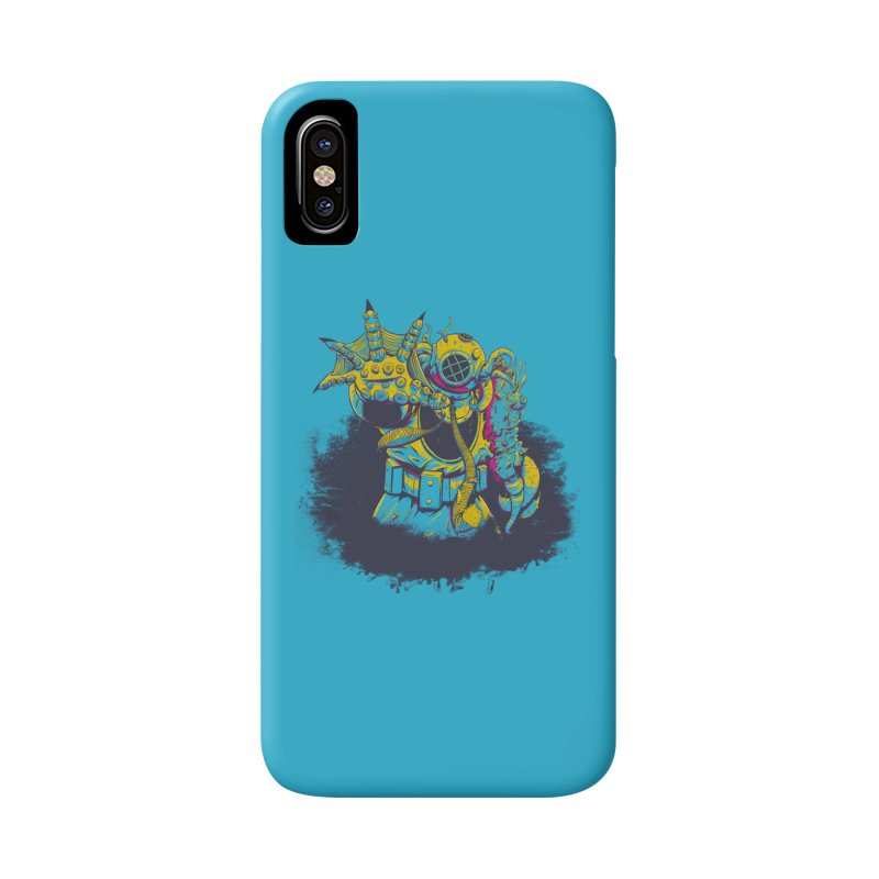 From The Deep Blue Accessories Phone Case by Requiem's Thread Shop
