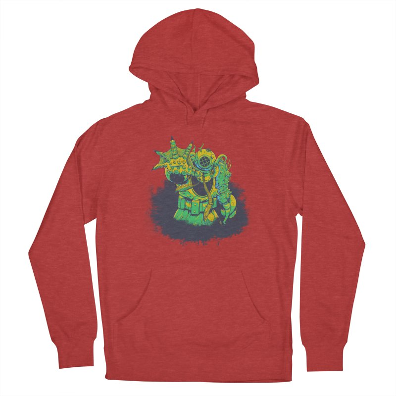 Green in the Gills  Women's French Terry Pullover Hoody by Requiem's Thread Shop