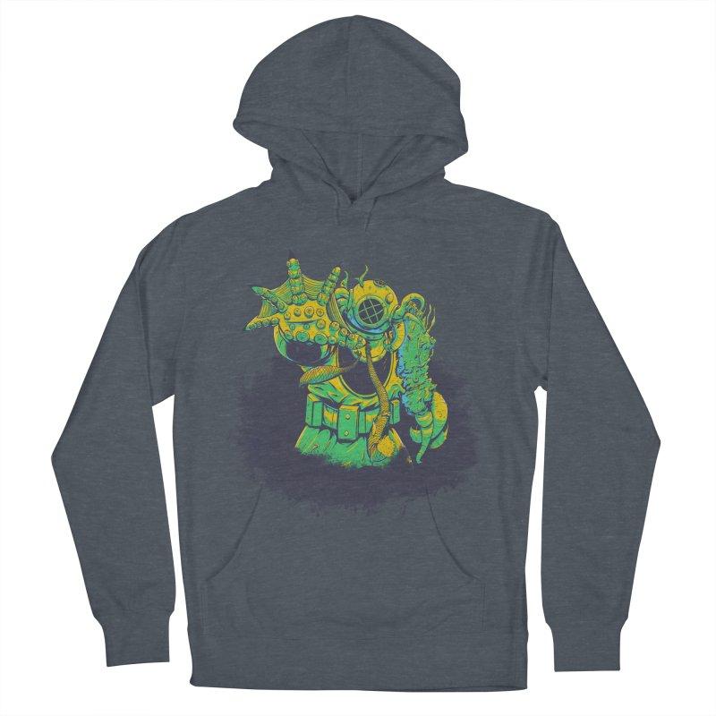 Green in the Gills  Men's Pullover Hoody by Requiem's Thread Shop