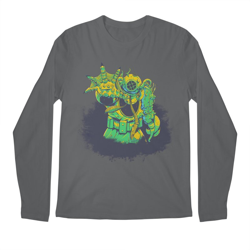 Green in the Gills  Men's Regular Longsleeve T-Shirt by Requiem's Thread Shop