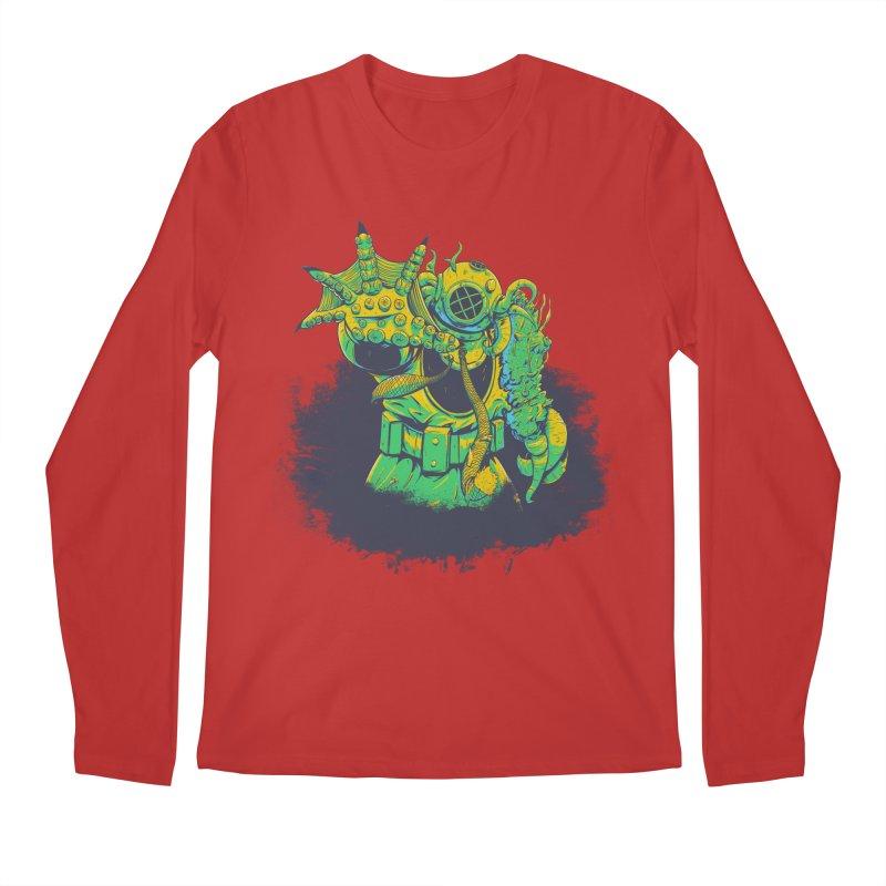 Green in the Gills  Men's Regular Longsleeve T-Shirt by Requiem's Thread Shop