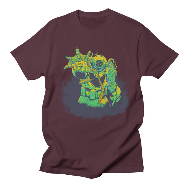 Green in the Gills  Women's Regular Unisex T-Shirt by Requiem's Thread Shop