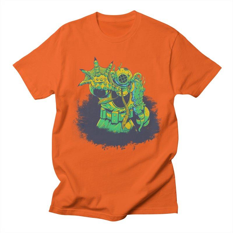 Green in the Gills  Men's Regular T-Shirt by Requiem's Thread Shop