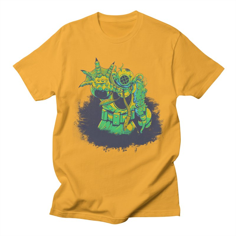 Green in the Gills  Women's Regular Unisex T-Shirt by Requiem's Thread Shop