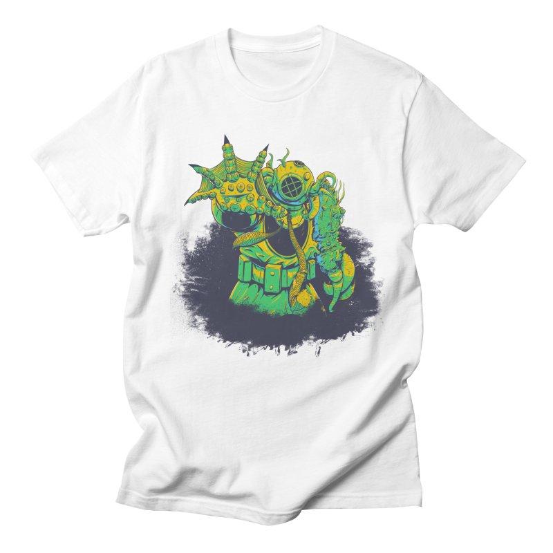 Green in the Gills  Men's T-Shirt by Requiem's Thread Shop