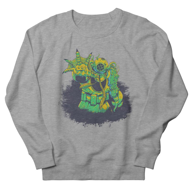 Green in the Gills  Women's French Terry Sweatshirt by Requiem's Thread Shop