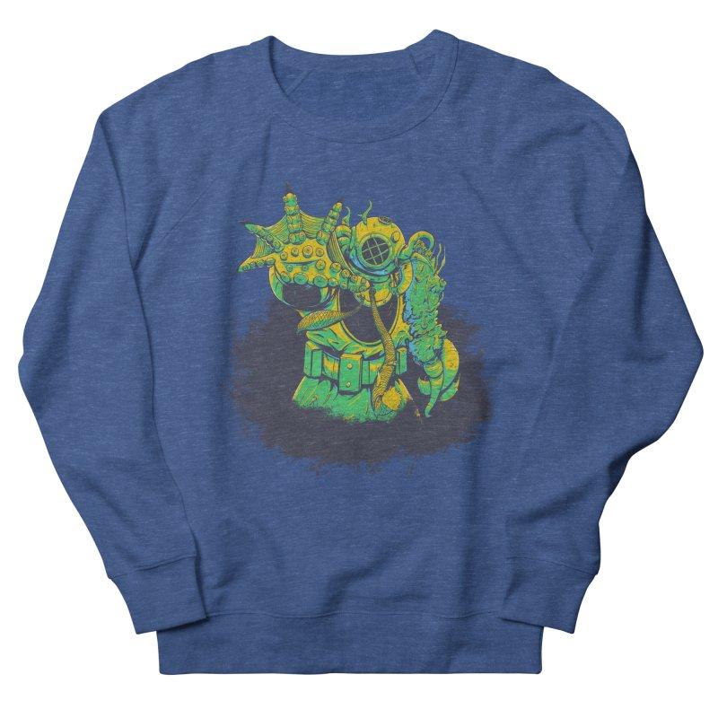 Green in the Gills  Men's French Terry Sweatshirt by Requiem's Thread Shop
