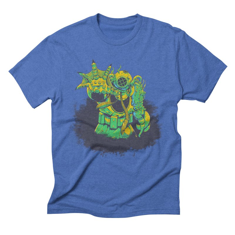 Green in the Gills  Men's Triblend T-Shirt by Requiem's Thread Shop
