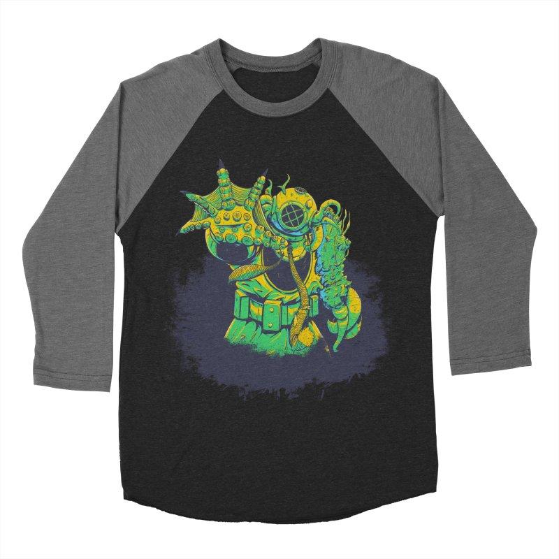 Green in the Gills  Women's Baseball Triblend Longsleeve T-Shirt by Requiem's Thread Shop