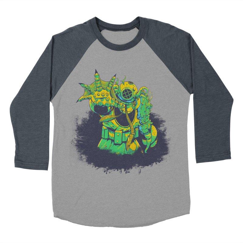 Green in the Gills  Men's Baseball Triblend Longsleeve T-Shirt by Requiem's Thread Shop