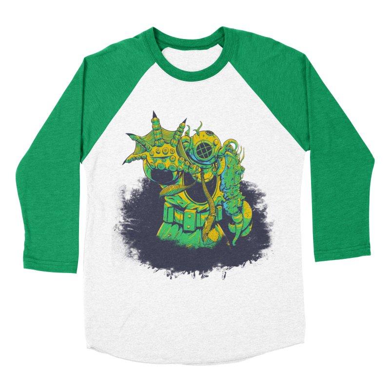 Green in the Gills  Men's Baseball Triblend T-Shirt by Requiem's Thread Shop