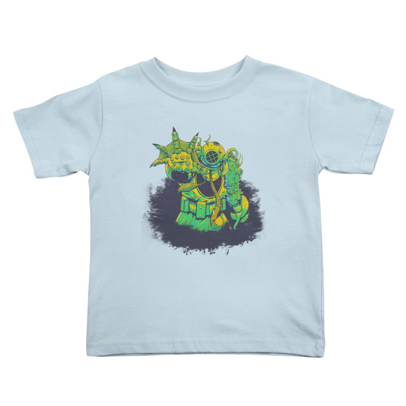 Green in the Gills  Kids Toddler T-Shirt by Requiem's Thread Shop
