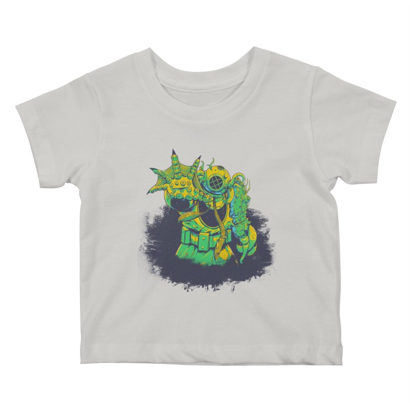 Green in the Gills  Kids Baby T-Shirt by Requiem's Thread Shop
