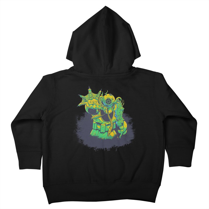 Green in the Gills  Kids Toddler Zip-Up Hoody by Requiem's Thread Shop