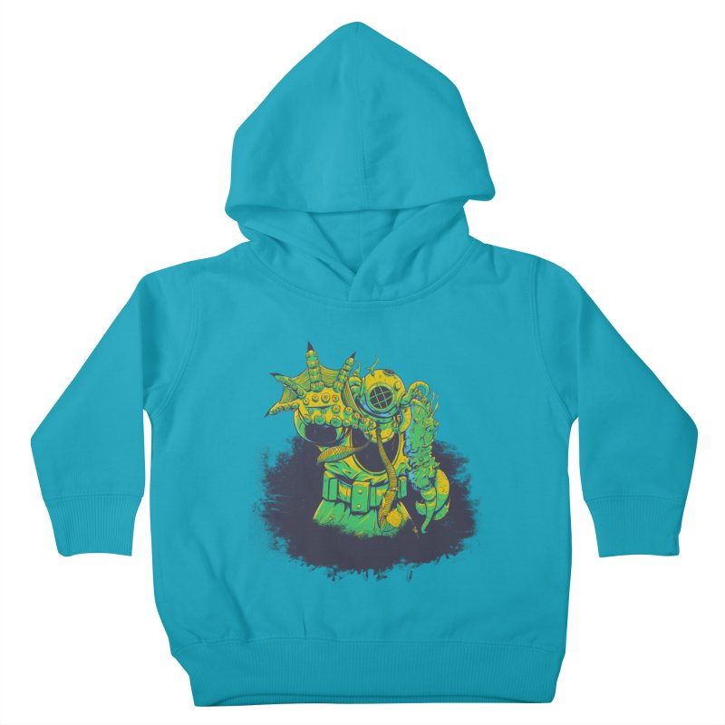 Green in the Gills  Kids Toddler Pullover Hoody by Requiem's Thread Shop