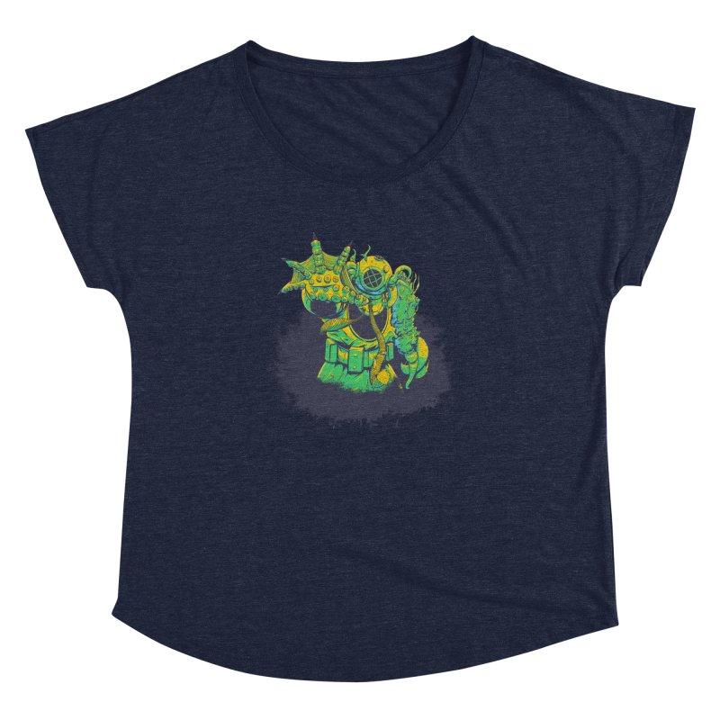 Green in the Gills  Women's Dolman Scoop Neck by Requiem's Thread Shop